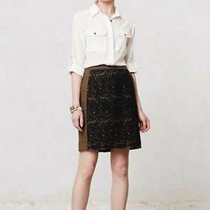 Anthropologie Maeve Rione Skirt